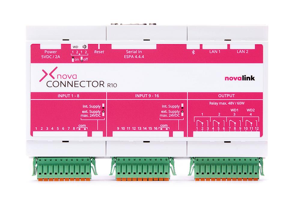 novaconnector der Alarmumsetzer